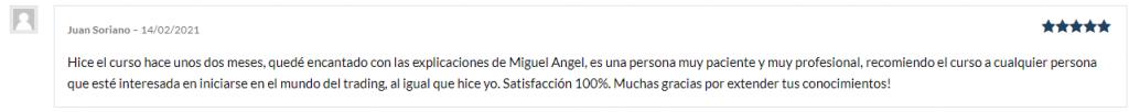 Comentario Juan