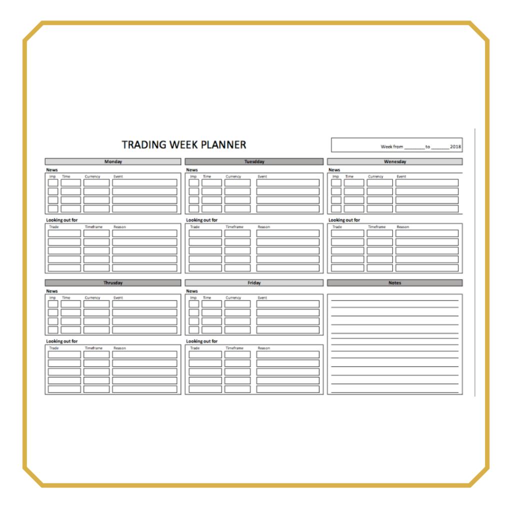 Kit de plantillas de Trading de regalo